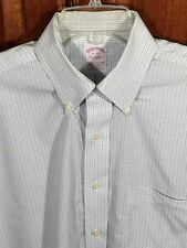 Brooks Brothers Traditional Fit Dress Shirt Cotton Non-Iron 15/33