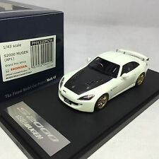 1/43 scale Mark43 Honda S2000 Mugen AP1 Grand Prix White PM4310M2W