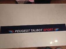 Sticker autocollant Bande Pare Soleil Peugeot 205 Rallye Talbot Sport