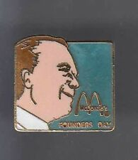 RARE PINS PIN'S .. MC DONALD'S  RESTAURANT FOUNDERS DAY USA ~12