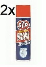 STP Heavy Duty Brake Parts Spray Cleaner 500ml x2