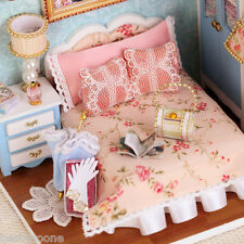 CUTEROOM H - 010 DIY Wooden House Furniture Handcraft Miniature Box Kit with Cov