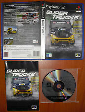 Super Trucks (Racing) PlayStation 2 PS2 PStwo Pal-España, COMPLETO Y RARO DE VER