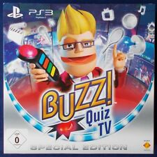 Ps3-PLAYSTATION ► Buzz!: quiz TV Special Edition & Wireless-Buzz! - Segnalatore acustico ◄