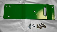 Snowblower adapter plate for John Deere 322 332.