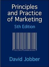 Principles and Practice of Marketing, Jobber, David Mixed media product Book The