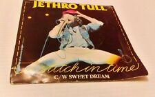 Jethro Tull A Stitch in Time White Vinyl single