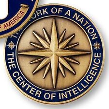 NEW CIA AGENT CENTRAL INTELLIGENCE AGENCY CHALLENGE COIN MEDAL               (0)