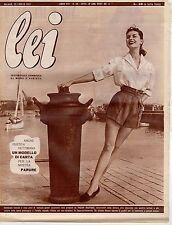 rivista LEI ANNO 1953 NUMERO 30
