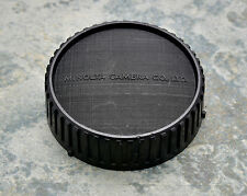 Genuine Minolta Black Rear Lens Cap SR/MC/MD Rokkor (#1386)