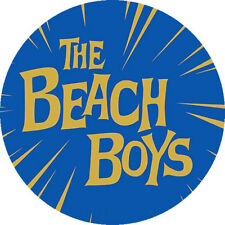 CHAPA/BADGE THE BEACH BOYS . pin button brian wilson surf beatles ventures