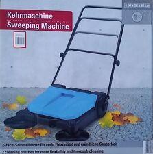 Kehrmaschine Kehrbesen Handkehrmaschine 2-fach Bürste Neu ovp.