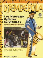 Djembefola Latest Djembe Rhythms Music Book with CD Hand Drum Learn How To Play