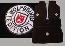 Fußmatten + Kofferaumteppich für VW Golf 4 WOB Wolfsburg Edition Stick