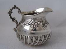 Lovely Antique Solid Sterling Silver Cream Jug 1893/ H 7.7 cm