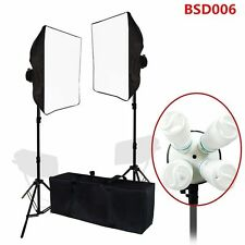 Studio 2000w Video Photography Softbox Stand Continuous Lighting Kit US @W@