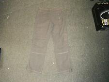 """MISS CAPTAIN cropped Pantalons Taille 30 """"jambe 27"""" gris délavé dames pantalon"""