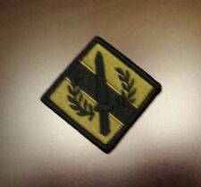 ARMY PATCH, 201ST SUPPORT BRIGADE ,MULTI-CAM,SCORPION, WITH HOOK TAPE FASTNER
