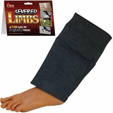 FAKE SURPRISING LEG / FOOT WITH PANTS Great Halloween Prop Gag  Prank Toy