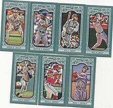 2013 Topps Gypsy Queen Mini Set + Variations 400 Cards Trout Jeter Ryan Ripken