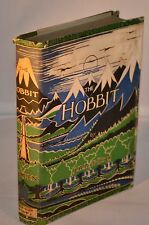 JRR Tolkien - SIGNED & Inscribed - The Hobbit - First Edition Tenth Impression