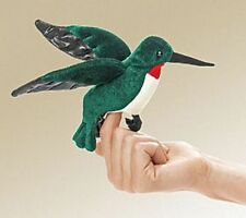 HUMMINGBIRD Finger Puppet # 2691 ~ FREE SHIPPING in USA ~ Folkmanis Puppets
