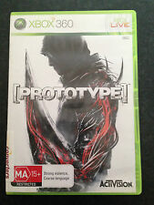Good Used XBOX 360 Prototype MA 15+ Rated Game by Activision PAL