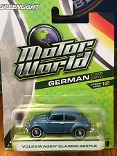 Greenlight MOTOR WORLD series 12  Volkswagen Classic Beetle   blue