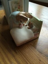 Royal Albert Beatrix Potter - Peter in Bed Boxed New