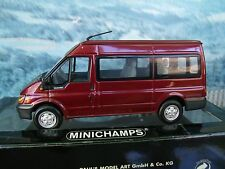 1/43   Minichamps   Ford transit limited 1 of 1111