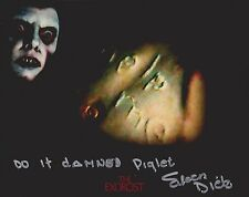 Eileen Dietz Signed Photo - THE EXORCIST - PAZUZU FACE - WITH RARE QUOTE!!! G90
