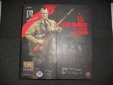 Jake McNiece 101st Airborne D-Day 1944 1/6th Figure (Signed by Mr. McNiece)
