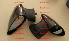 Carbon Fiber With ABS Mirror with Glass SPN Style For 2006 Honda Civic 4 Doors