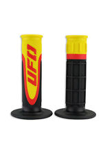 NEW UFO Motocross Enduro Axiom Grips - Yellow
