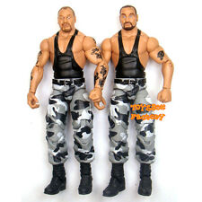 WWF WWE Wrestling Elite Luke & Butch Bushwhackers Action Figure Kid Toys Mattel