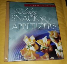 Holiday Snacks and Appetizers (Homemade Christmas) Hardcover