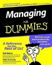 Managing For Dummies (1996)