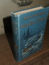 1893 FORTY TWO YEARS AMONG THE INDIANS & ESKIMOS BY BATTY MISSIONARY CREE CANADA