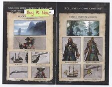 Assassin's Creed IV 4 Black Flag Black Chest Edition DLC Pack Xbox ONE *NEW!*