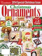 JUST CROSS STITCH Magazine 2014 SPECIAL CHRISTMAS ISSUE Christmas Ornaments