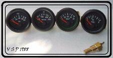 Gauges Kit- 52 Electrical Temp Pressure +Oil +Fuel+ Volt + Sender Unit