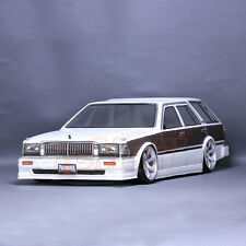 Pandora NISSAN CEDRIC WAGON 1:10 RC Cars Drift 199mm Clear Body Set #PAB-109