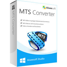 Aiseesoft MTS Converter WIN dt.Vollver.-lebenslange Lizenz ESD Download