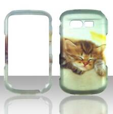 For Pantech Caper TXT8035 Cute Kitten Plane Case Hard Phone Cover