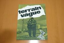 DANIELE GAUBERT ROLAND LESAFFRE TERRAIN VAGUE 1960 RARE DOSSIER DE PRESSE