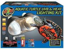 ZOO MED AQUATIC TURTLE UVB & HEAT LIGHTING KIT - AQUARIUM