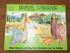 Brave Warrior A Japanese Legend an Origami Story book with unused papers