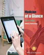 MEDICINE AT A GLANCE - NEW PAPERBACK BOOK