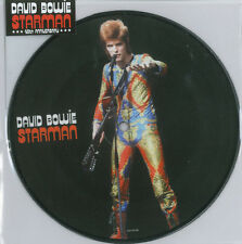 "David Bowie   - Starman 7""  Picture Disc Rare 40th Anniversary Release"