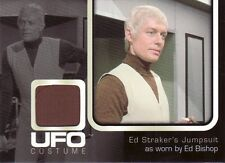 Ufo série tv rare ed bishop comme le capitaine ed straker UC002 costume carte